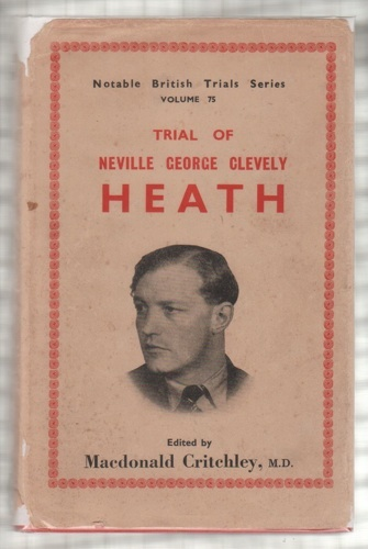 Image for Trial of Neville Heath [Notable British Trials]