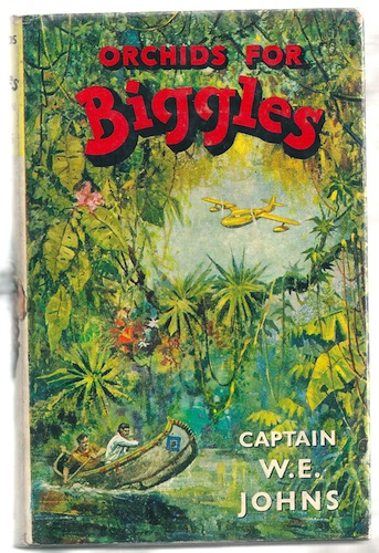 Image for Orchids for Biggles