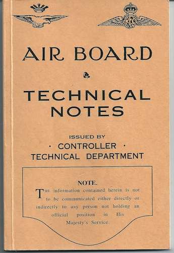 Image for Air Board Technical Notes