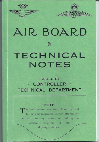 Image for Air Board Technical Notes: Aircraft Rigging vol. 2