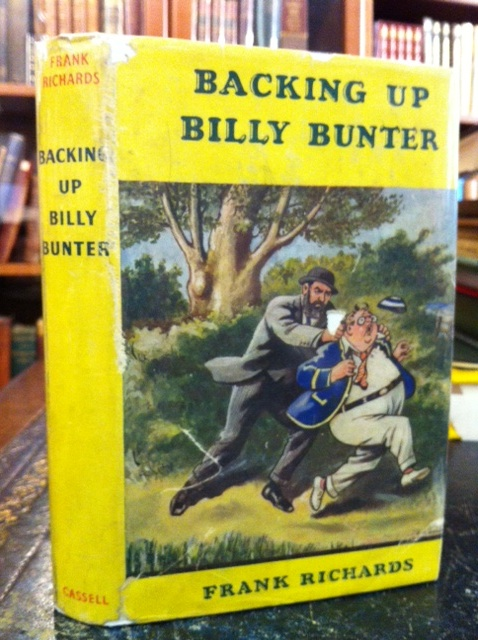 Image for Backing Up Billy Bunter
